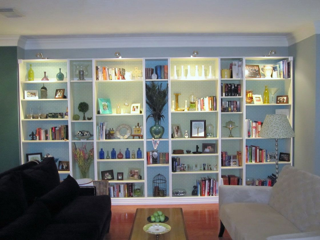 Impressive For Built In Bookshelves