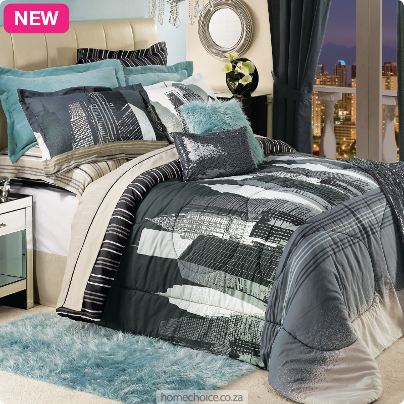 City Duvet And Comforter Set From R199 Cash Or R19 P M