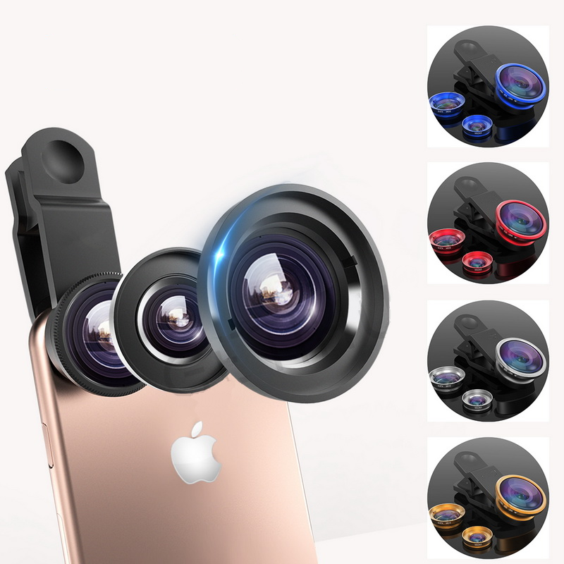 Universal 3 in 1 Wide Angle Macro Fisheye Lens Camera Mobile Phone Lenses  For iPhone 6 7 Smartphone Price  10.95   FREE Shipping  women  clothing   men ... 55c2d8e1b3