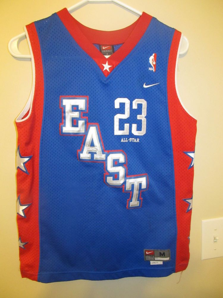 fe83d0a2050 LeBron James - EAST All Star Jersey - Nike youth Medium  Nike   ClevelandCavaliers