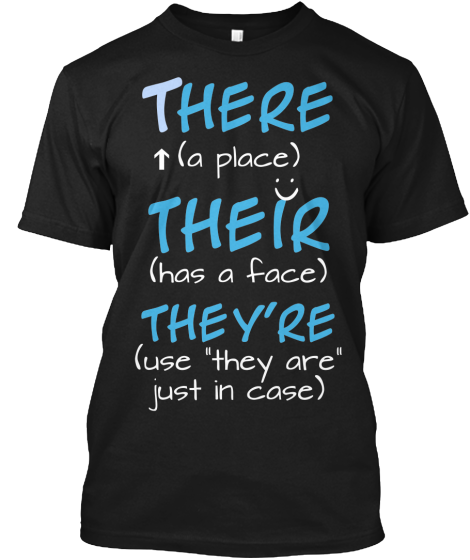 All my English teacher friends need to order this shirt