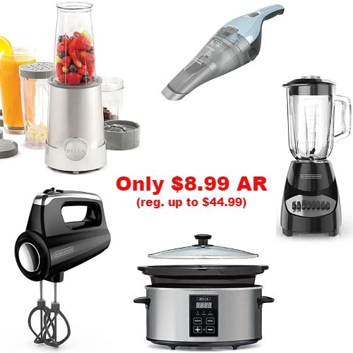 Up to 80 off Small Appliances Only 8.99 AR Appliance