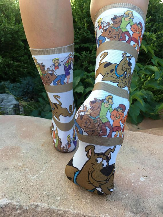 a4e5869016 Scooby Doo Gang Socks Cool Dog Socks Scooby Doo Birthday