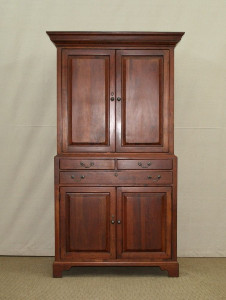 Lexington bob timberlake cherry entertainment center for Entertainment armoire
