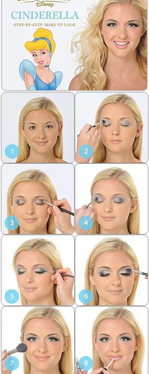 15 Prom Makeup Hacks, Tips and Tricks Inspired By Every Disney Princess Cinderella Makeup,
