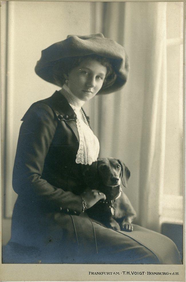 T.H. Voigt, Princess Victoria Louise of Prussia     #Personnalités_du_XIXe_siècle #Divers_XIXe