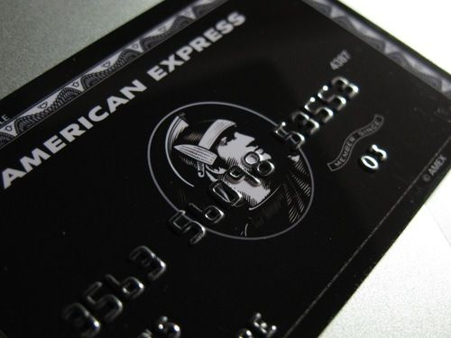 American Express Centurion Card aka Black Card - Must have a personal income of $300000 / year to apply.