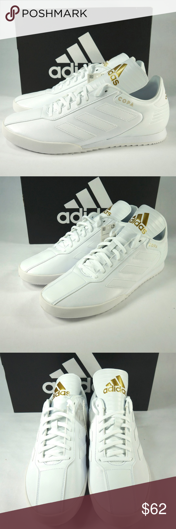 6527cb3b1eb Adidas Copa Super Indoor Soccer Shoes Brand new