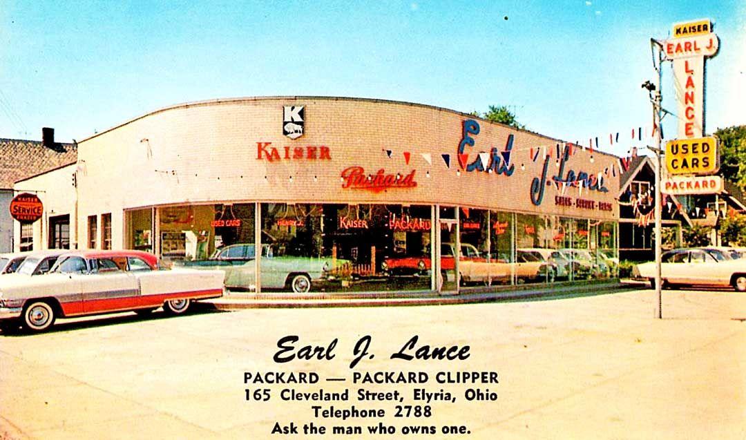 Packard, Kaiser, Henry J Dealer 1955 Dealership, Packard