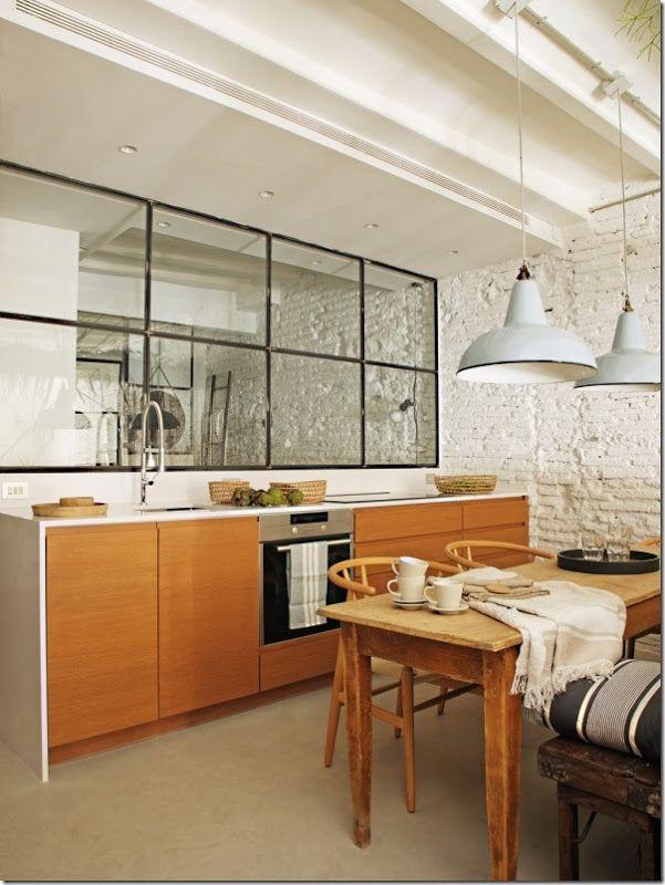 Stile Industriale per un piccolo appartamento ...