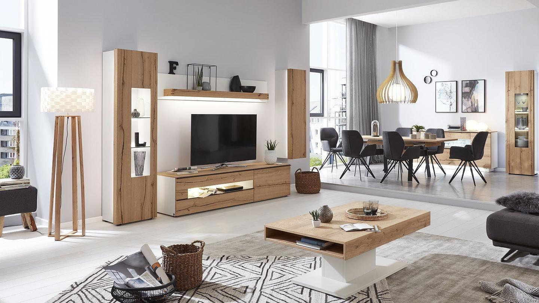 moderne wohnzimmermobel interliving wohnzimmer serie 2103 korpus weiss