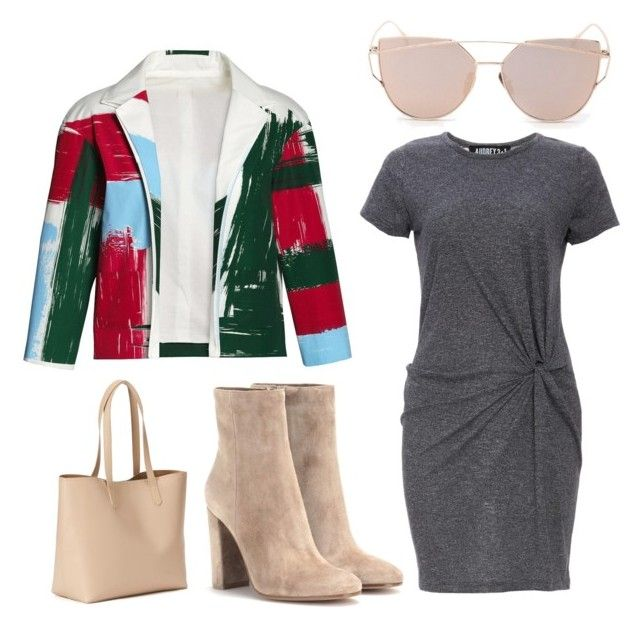 """""""Untitled #88"""" by alicefox149 on Polyvore featuring Canvas by Lands' End, Gianvito Rossi, Audrey 3+1, Old Navy and Spring"""