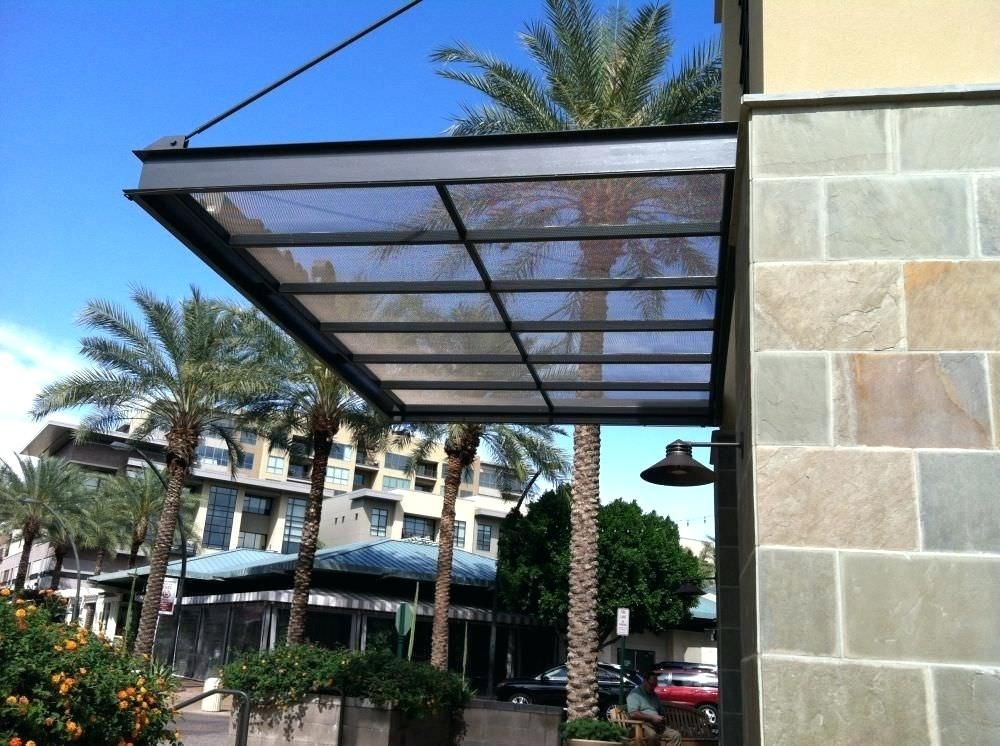photo suspended awning cable canopy sunshade | Steel ...