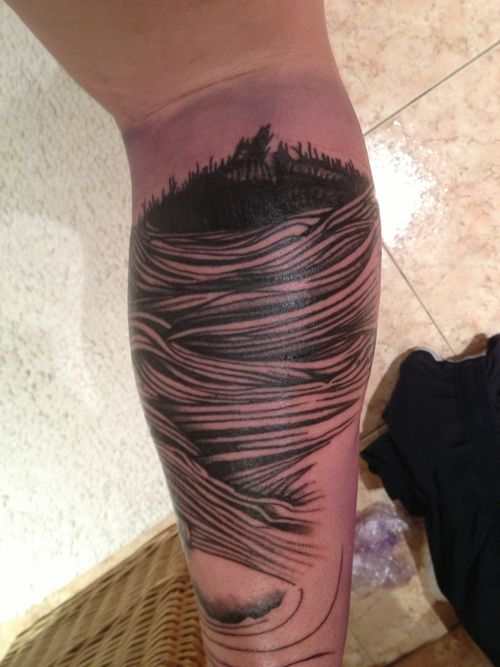 Parkway Drive Deep Blue tattoo. Since Im a huge Parkway