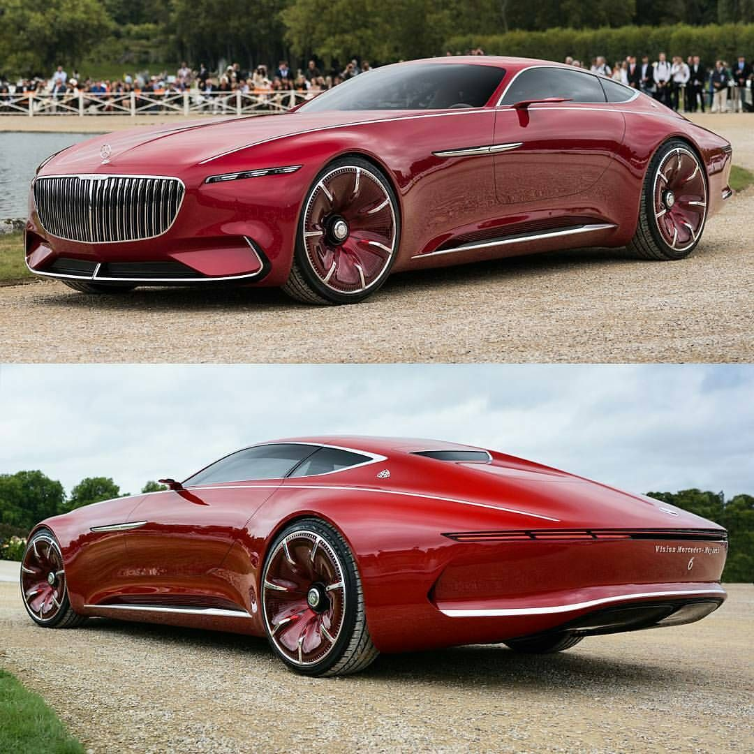 "Amazing Cars Daily! on Instagram: ""Maybach Vision 6! Rate 1-100! Follow @pogforever as he captures and posts pics of the best supercars! • Photo @pogforever •…"" #amazingcars"