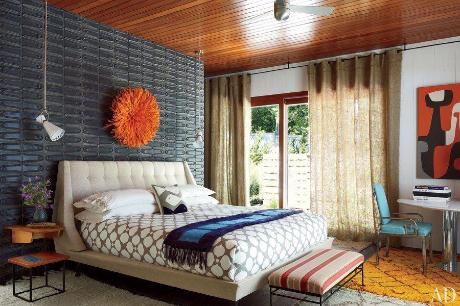 25 Amazing Mid century Bedroom Design Modern window