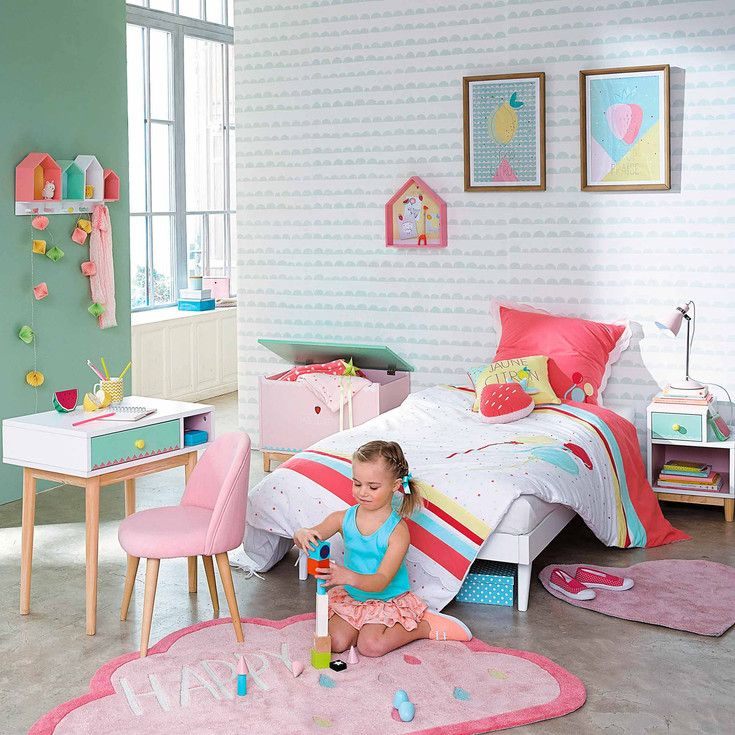 maisons du monde tapisserie ferm living kinderzimmer. Black Bedroom Furniture Sets. Home Design Ideas