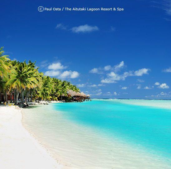 Cook Islands Best Beaches: Cook Islands The Aitutaki Lagoon Resort & Spa.