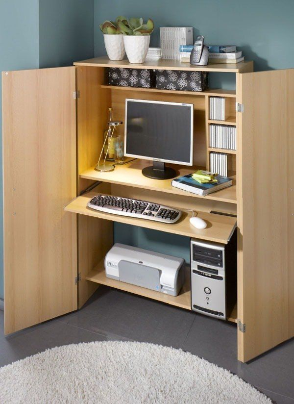 Computer Armoire, Office Furniture, Office Furniture Ideas, Office Furniture  Modern, Office Furniture
