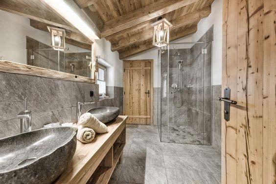 modernes Chalet, landhausstil skandinavischer, alpenstil Möbel