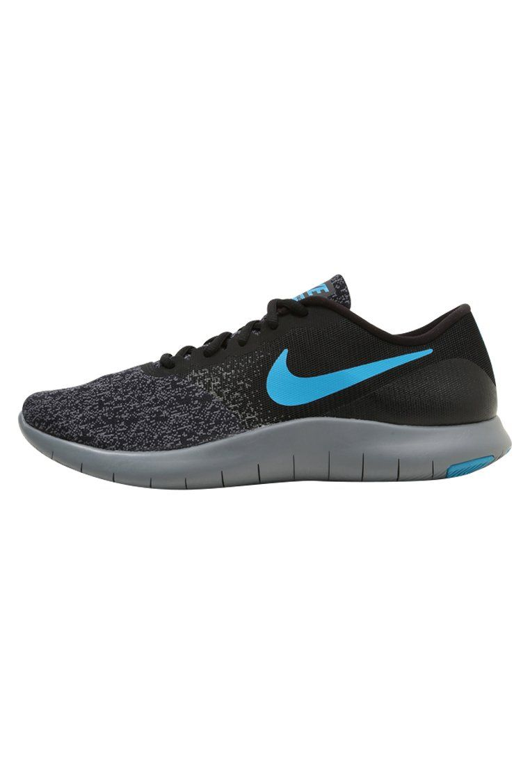 Nike Performance FLEX CONTACT - Trainers - black/neo turqoise/dark grey jEUDfhEf3b