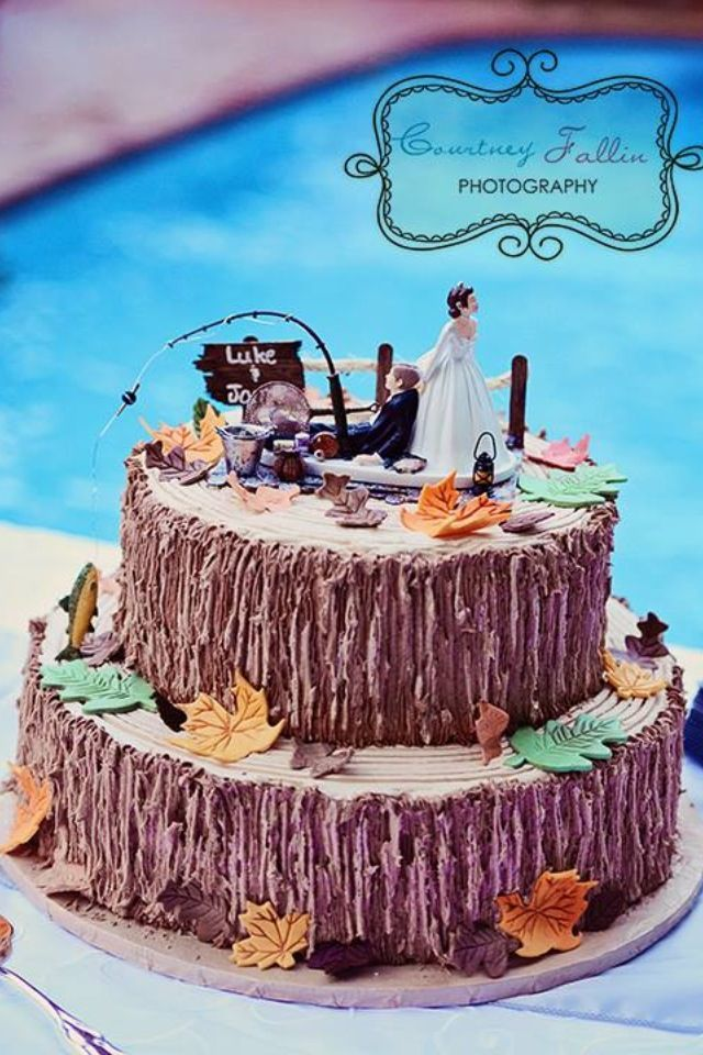 Found On Bing From Www Pinterest Com Fishing Wedding Cakes