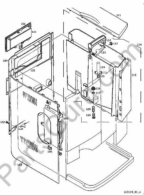 Jura X7 Parts And Wiring Diagram 230v