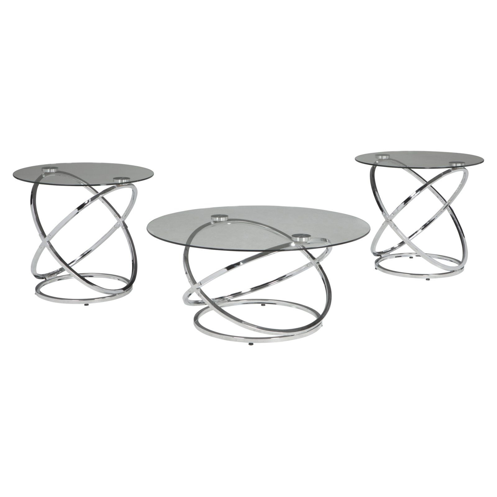 Signature Design By Ashley Hollynyx 3 Piece Occasional Table Set