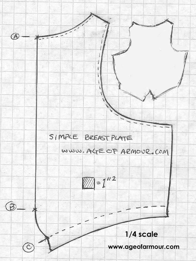 Armour Archive Pattern Archive Peascod Breastplate By William