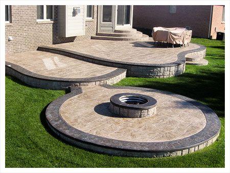 Concrete Patio Designs | Exposed Aggregate Concrete Concrete Repairs Tear  Out Replacement .