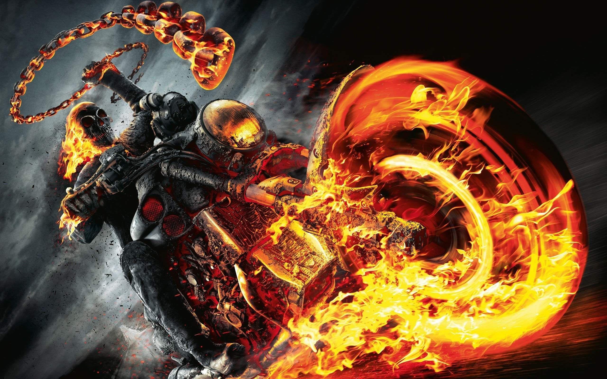 Ghost Rider Bike Wallpaper HD Download For Desktop And Mobile