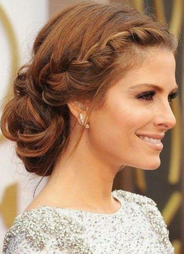 Pin Von Marina Hair Auf Frisuren Trends Seitlicher Dutt Geflochten