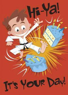 Happy Birthday Boy Karate Google Search Happy Birthday