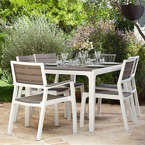 Buy Keter Harmony 6-Seat Dining Set Online at johnlewis.com ...