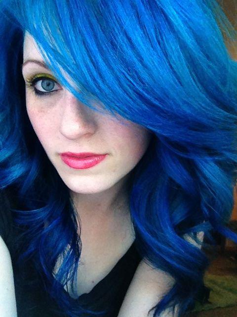 Www Outrageousrainbows Com Blue Hair Dye My Hair Bright Hair
