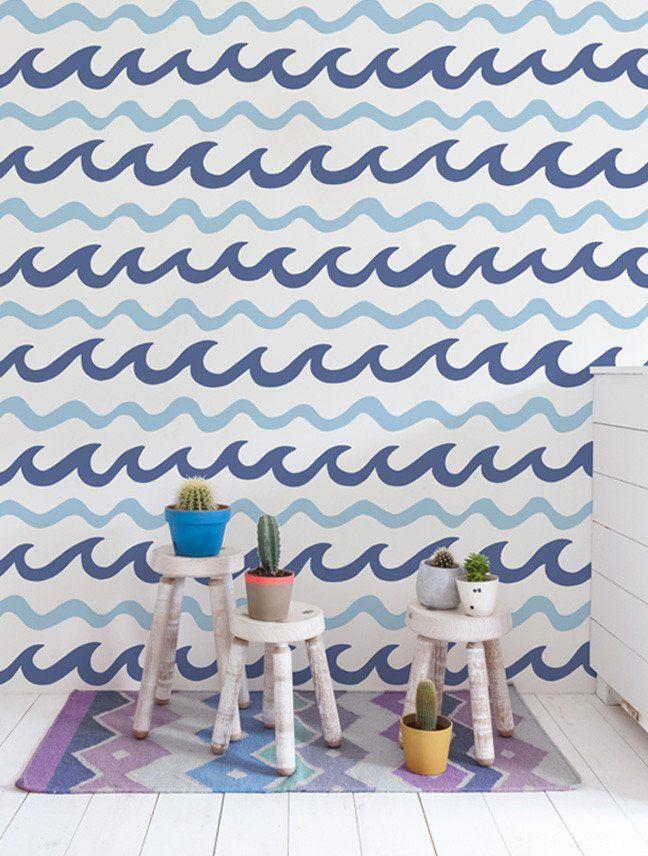 Pin By Marilia Prochno On Boys Bathroom Chevron Wallpaper Home Decor Modern Wallpaper