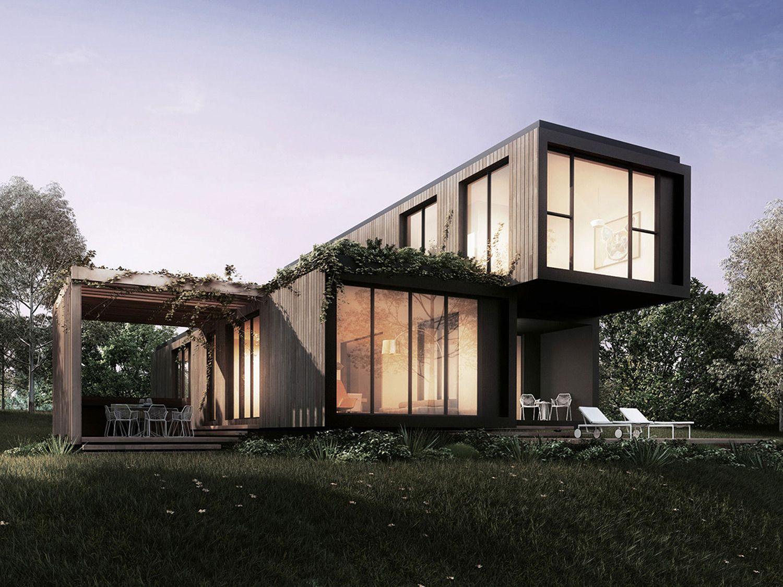 Klik australia modular building system architecture pinterest building systems - Australian container homes ...