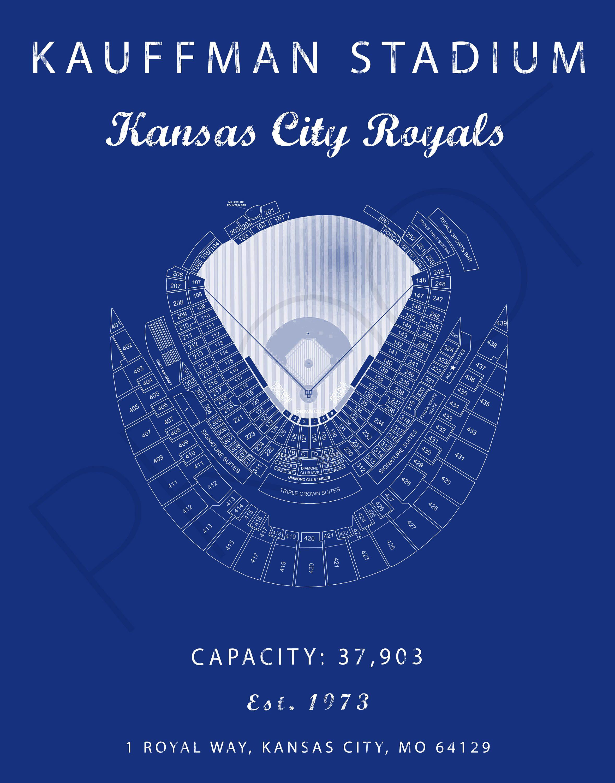 Kauffman Stadium Kansas City Royals Kauffman Stadium Seating