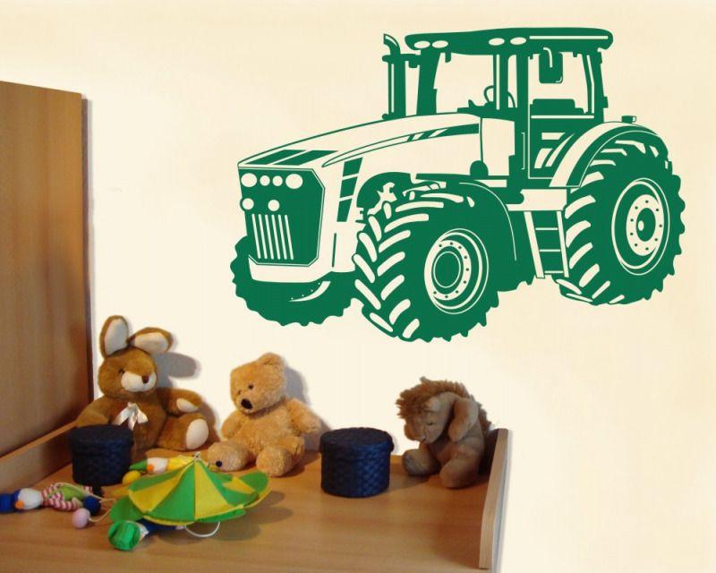 Wandtattoo Trecker Traktor Kinderzimmer Deko XXXLAufkleber