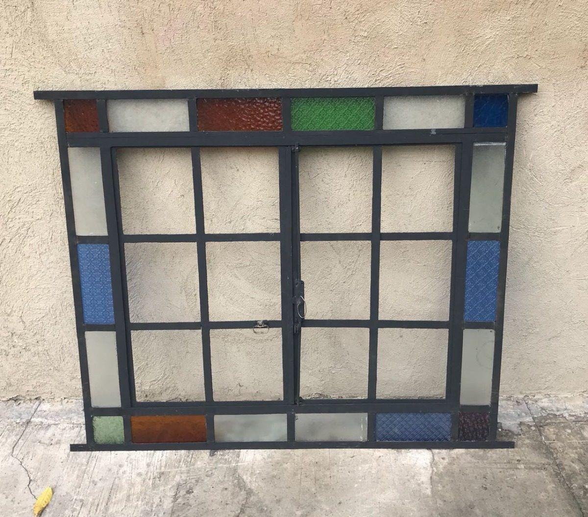 Elcarreton Ventanas Antiguas Hierro Vidrio Repartido Recicla
