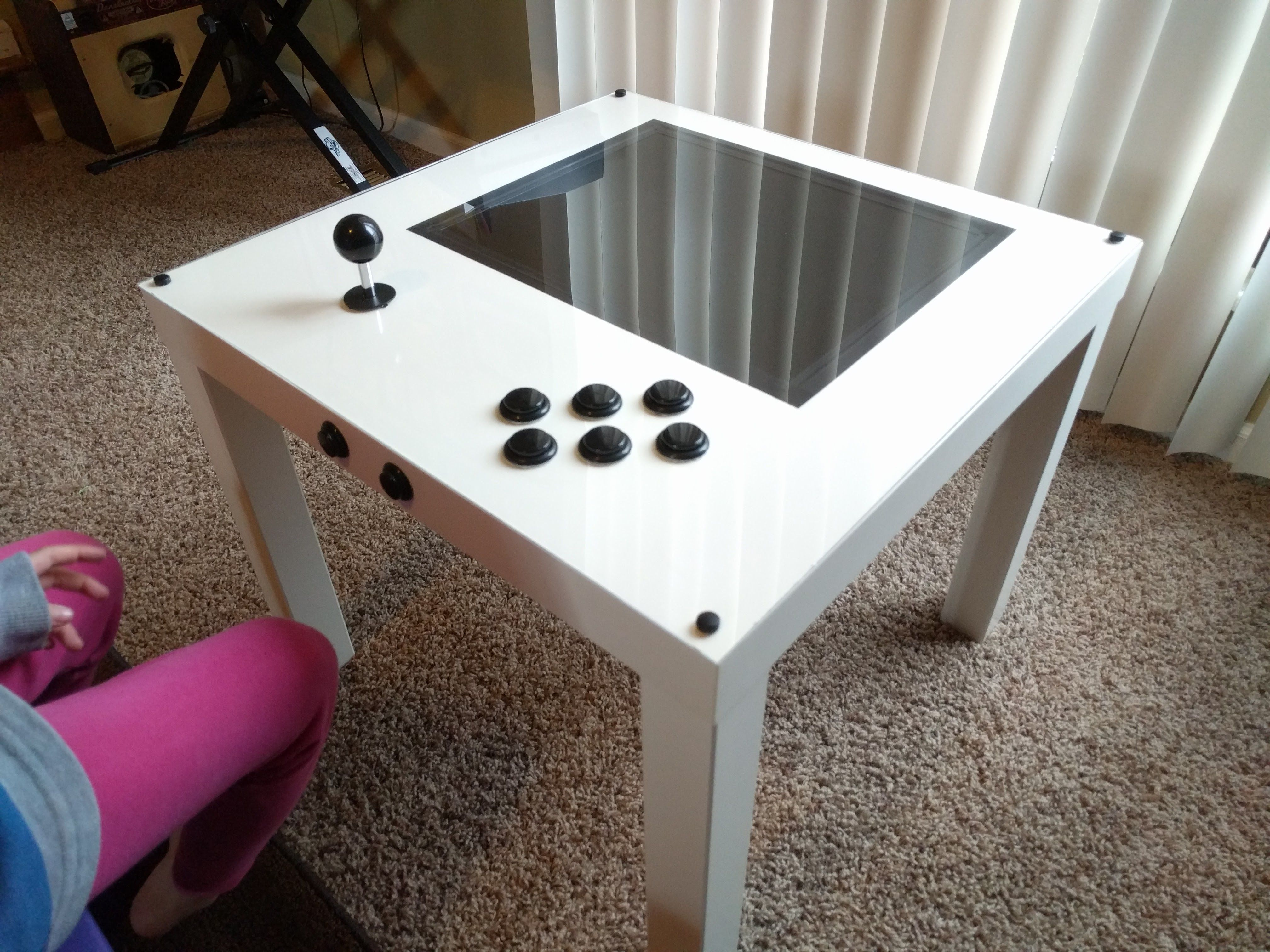 PIK3A: The Raspberry Pi 3 IKEA Retro Gaming Table | element14 Community