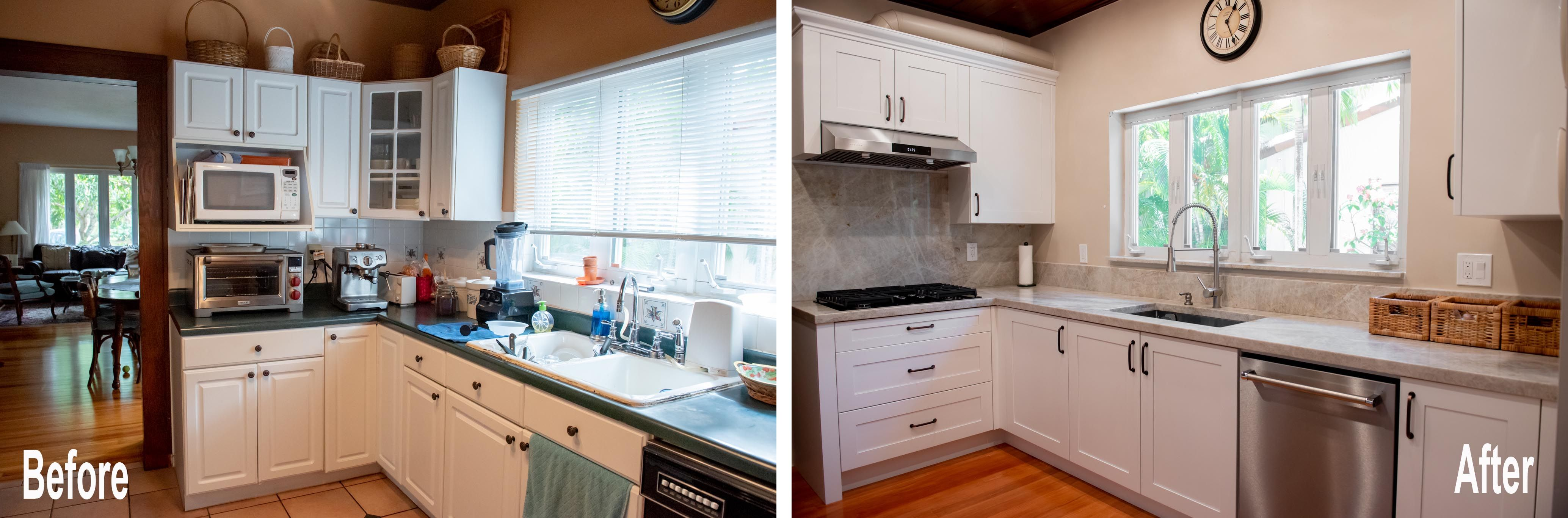 Traditional Kitchen Update Done In A White Paint In 2020 Kitchen Remodeling Projects Home Kitchens Kitchen Remodel