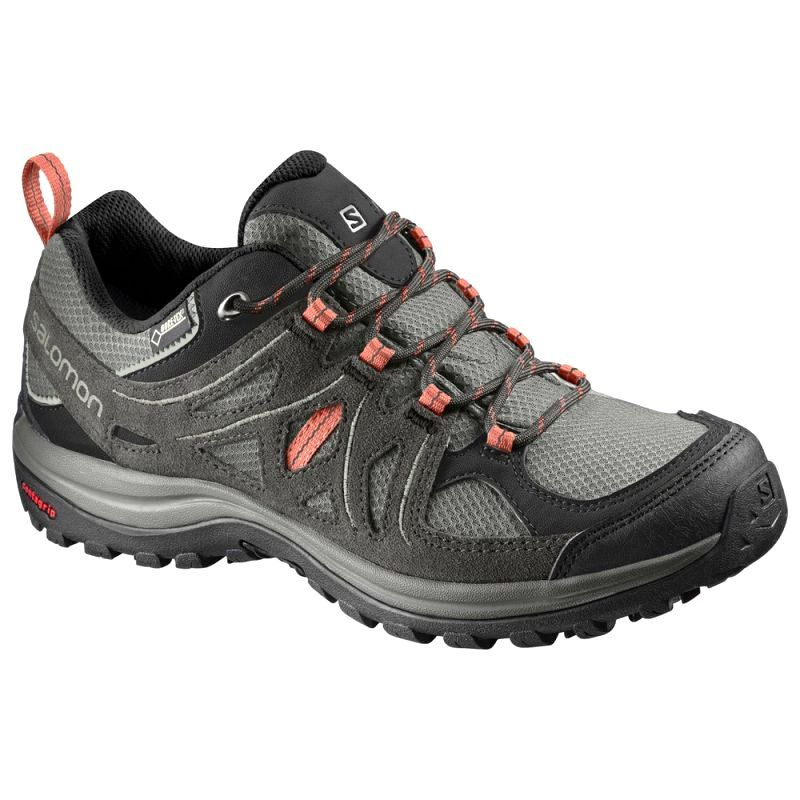 Buty Trekkingowe Salomon Ellipse 2 Gtx W L40002100 Szare Hiking Shoes Women Shoes Women Shoes