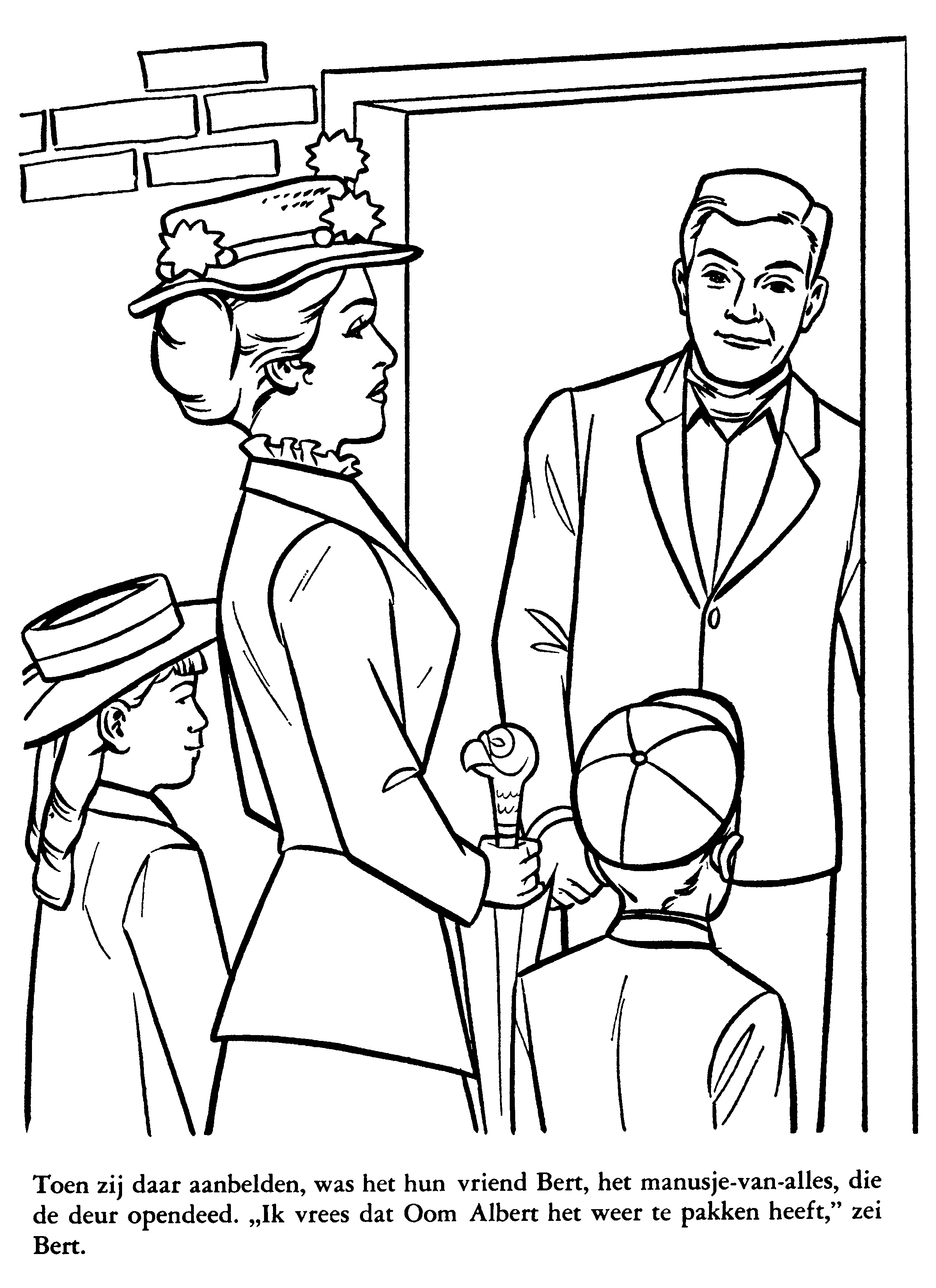 mary-poppins-01-03.png (2400×3300) | colouring sheets | Pinterest