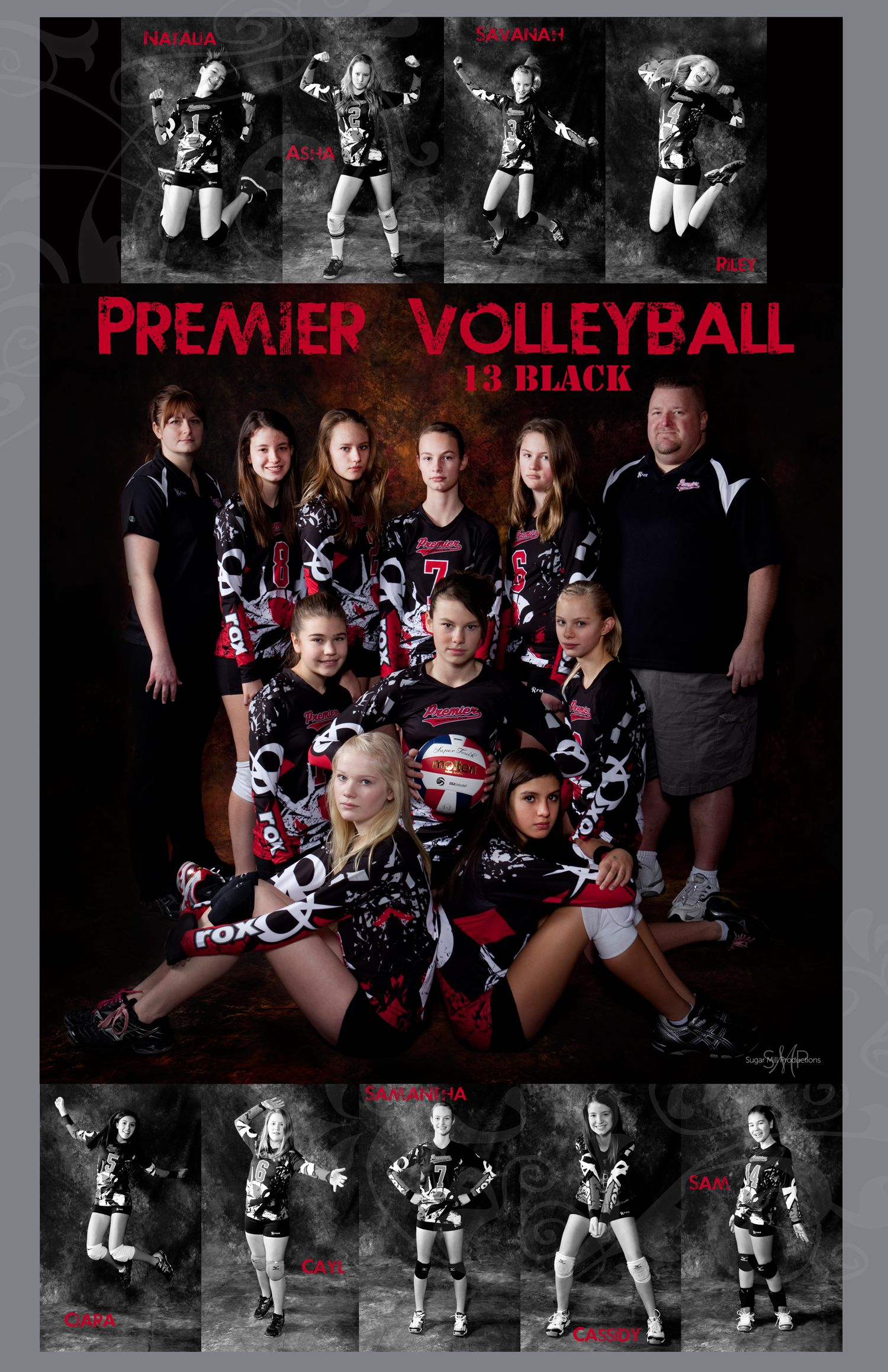 Team Poster I Love Doing Sports Posters Especially For These Fierce Girls Volleyball Team Pictures Volleyball Posters Volleyball Photos