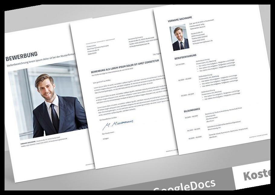 Muster Vorlage Fur Ihre Bewerbung Deckblatt Anschreiben Lebenslauf Anlagenverzeichnis Optimiert Fur Openoffice 4