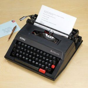 Royal Scrittore Manual Portable Typewriter New Typewriter Portable Typewriter Portable