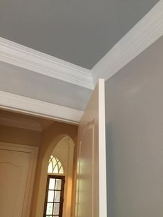 Walls Sw Passive Gray Trim Sw Pure White Ceiling Sw Argos Paint Colors For Home Colored
