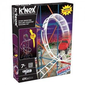 K'NEX Star Shooter Roller Coaster Set $16.99 (Reg. $32.99)