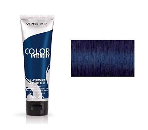 Joico Intensity Semi Permanent Hair Color Sapphire Blue 4 Ounce